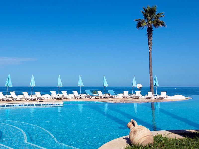 Amphitrite palace beach hotel convention centre for Piscine amphitrite